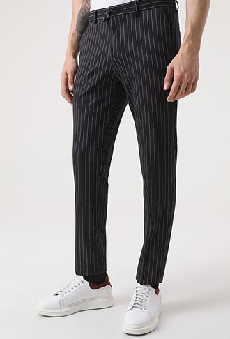 Damat Slim Fit Lacivert Örme Jogger Pantolon - 8682364658503 | Damat Tween