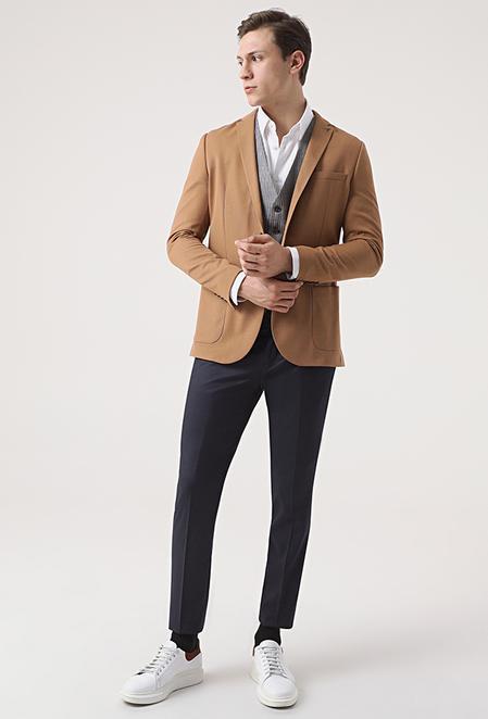 Tween Slim Fit Tarçın Kombinli Takım Elbise - 8682364703135   Damat Tween