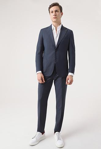 Damat Slim Fit Lacivert Takım Elbise - 8682364644322 | Damat Tween
