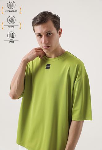 Tween Yeşil Recycle T-shirt - 8682364815203 | Damat Tween