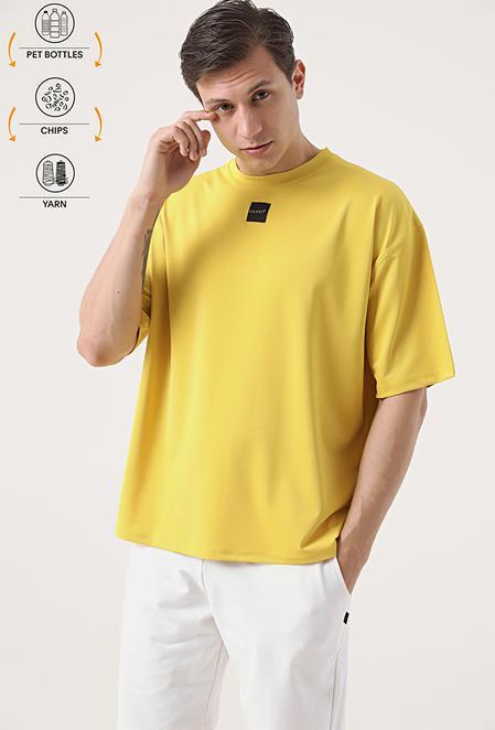 Tween Sarı Recycle T-shirt - 8682364815319 | Damat Tween