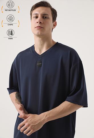 Tween Lacivert Recycle T-shirt - 8682364815425 | Damat Tween