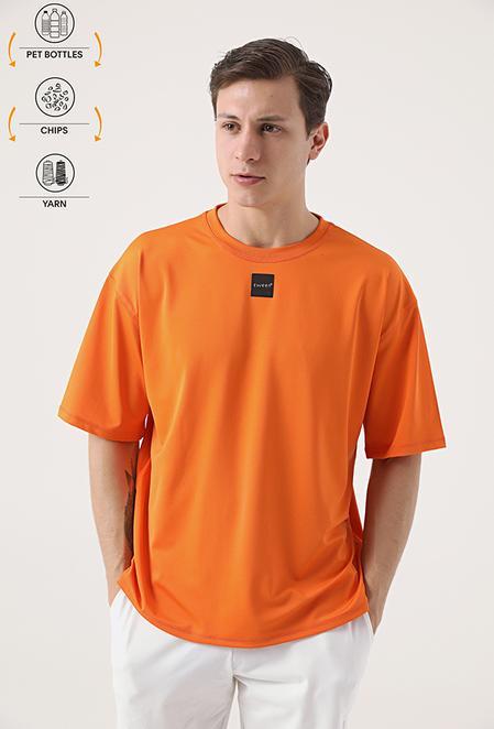 Tween Turuncu Recycle T-shirt - 8682364815517 | Damat Tween