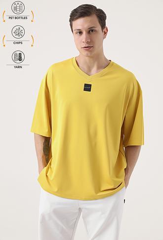 Tween Sarı Recycle T-shirt - 8682364815463 | Damat Tween
