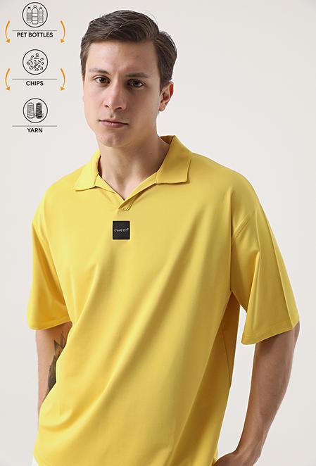 Tween Sarı Recycle T-shirt - 8682364815678 | Damat Tween