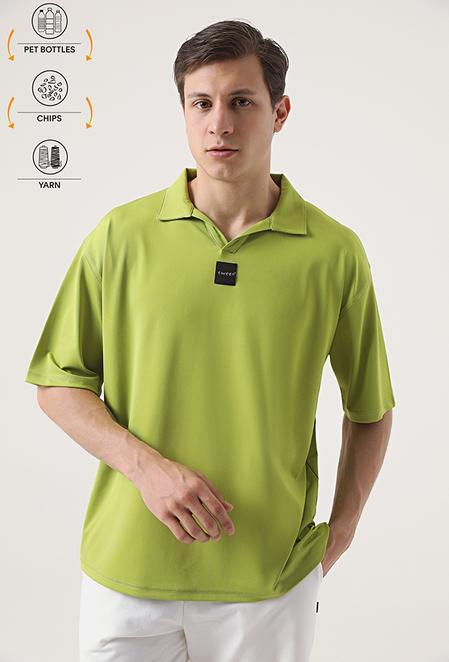 Tween Yeşil Recycle T-shirt - 8682364815814 | Damat Tween