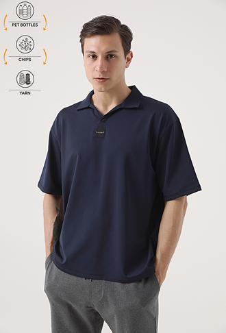Tween Lacivert Recycle T-shirt - 8682364815920 | Damat Tween