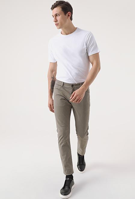 Tween Super Slim Fit Vizon Chino Pantolon - 8682364654727 | Damat Tween
