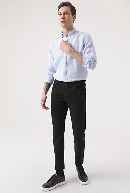Tween Super Slim Fit Siyah Chino Pantolon - 8682364654765 | Damat Tween
