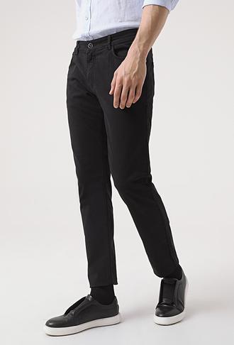 Tween Super Slim Fit Siyah Chino Pantolon - 8682364542963 | Damat Tween