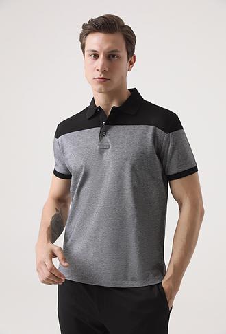 Ds Damat Regular Fit Beyaz Armürlü T-shirt - 8681494276182 | D'S Damat