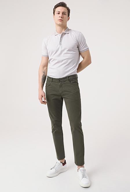 Tween Super Slim Fit Haki Chino Pantolon - 8682364654949 | Damat Tween