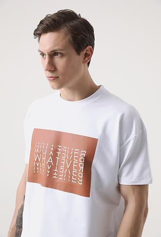 Tween Beyaz Örme S-shırt/esofman Ust - 8682364521883 | Damat Tween
