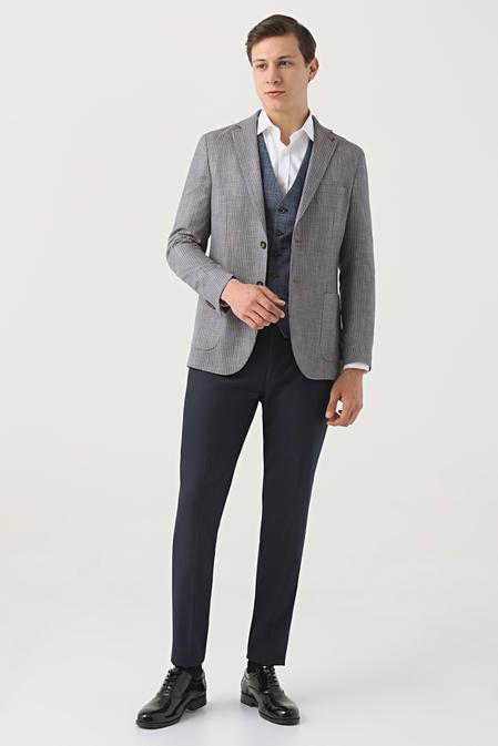 Tween Slim Fit Kahve Kombinli Takım Elbise - 8682364702855   Damat Tween