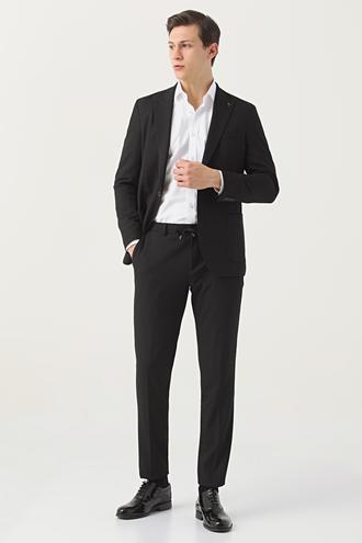 Tween Slim Fit Siyah Takım Elbise - 8682364701506 | Damat Tween