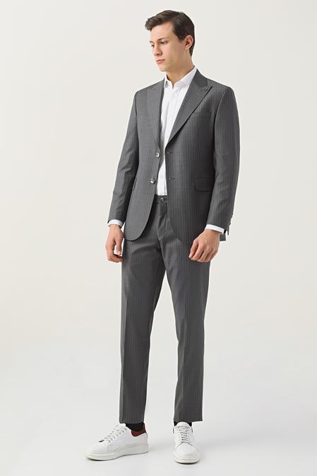 Damat Regular Fit Antrasit Takım Elbise - 8682364702183   Damat Tween