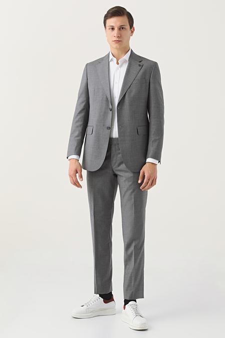 Damat Regular Fit Antrasit Takım Elbise - 8682364701988   Damat Tween