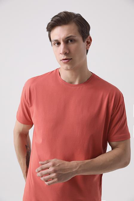Ds Damat Oversize Kiremit T-shirt - 8682445426229   D'S Damat