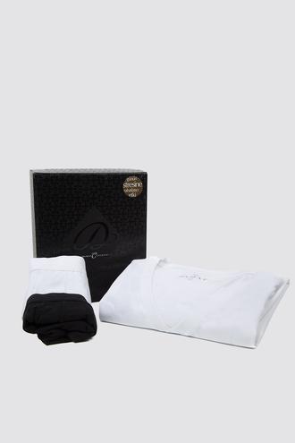 Damat Beyaz Boxer Set - 8681649978138   Damat Tween