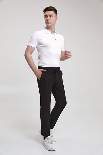 Twn Slim Fit Siyah Jogger Pantolon - 8682445119589 | D'S Damat