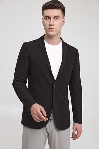 Twn Slim Fit Siyah Kumaş Ceket - 8682445179361 | D'S Damat