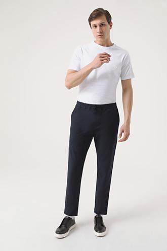 Twn Relaxed Fit Lacivert Jogger Pantolon - 8682445122961 | D'S Damat