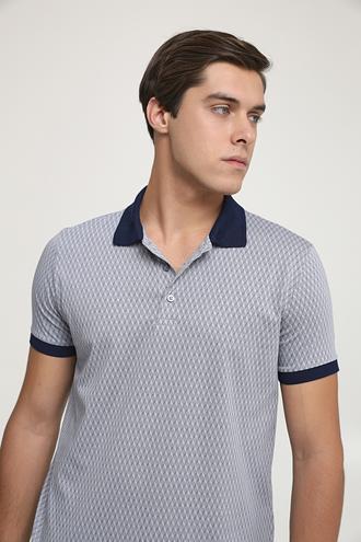 Ds Damat Regular Fit Gri Baskılı T-shirt - 6725695037523 | D'S Damat