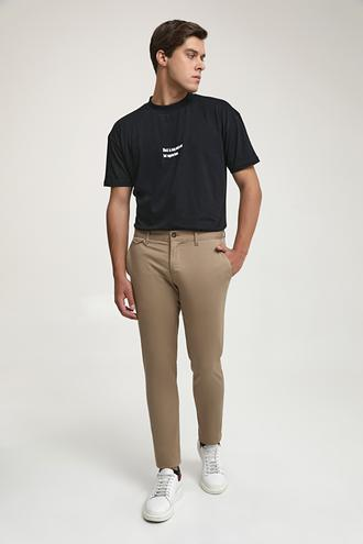 Ds Damat Slim Fit Camel Chino Pantolon - 8682445178548 | D'S Damat