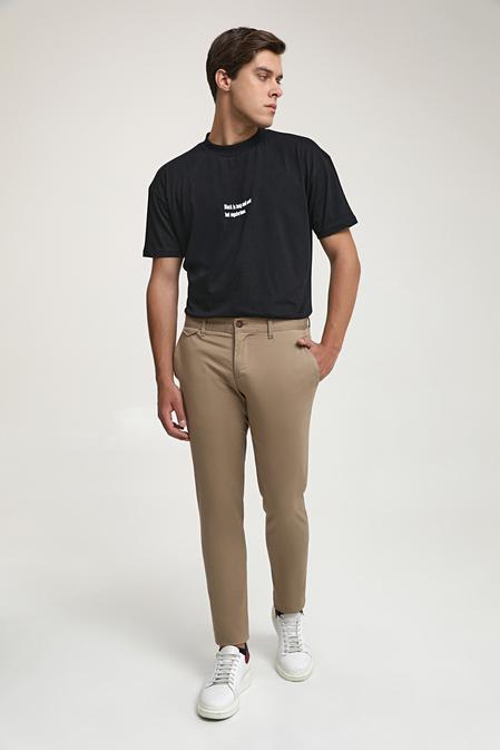Ds Damat Slim Fit Camel Chino Pantolon - 8682445178548   D'S Damat