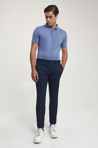 Ds Damat Slim Fit Lacivert Chino Pantolon - 8682445178500 | D'S Damat