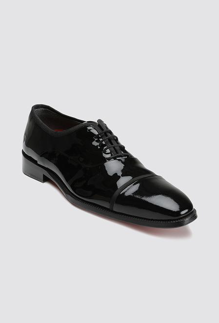 Tween Siyah Smokin Ayakkabı - 8681649605850   Damat Tween
