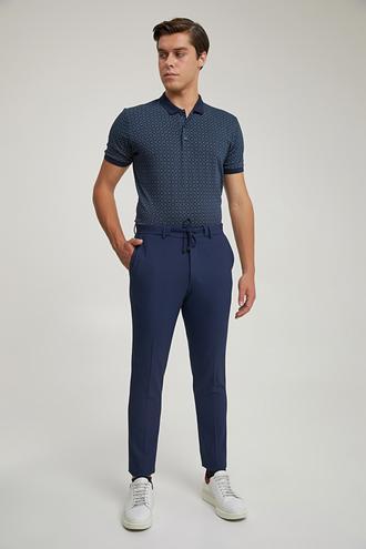 Twn Slim Fit Lacivert Jogger Pantolon - 8682445187380 | D'S Damat