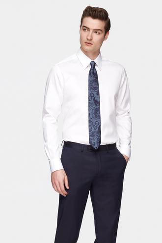 Damat Comfort Beyaz Düz Nano Care Gömlek - 8681649975151 | Damat Tween