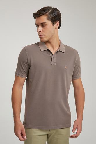 Ds Damat Regular Fit Vizon Pike Dokulu T-shirt - 8682445030358   D'S Damat
