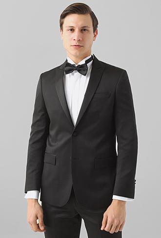 Ds Damat Slim Fit Siyah Jakar Desenli Smokin Takım Elbise - 8682445243116 | D'S Damat