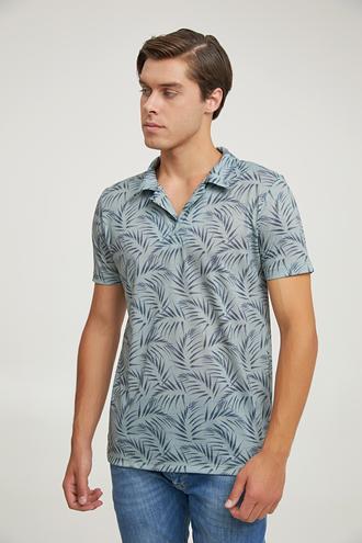 Ds Damat Regular Fit Yeşil T-shirt - 6725695040349 | D'S Damat
