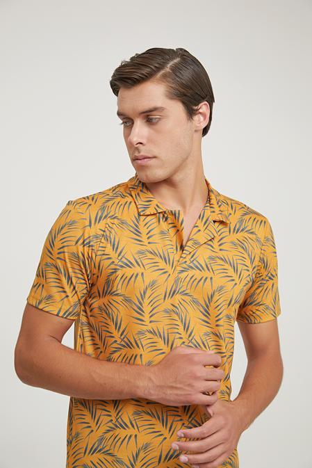 Ds Damat Regular Fit Turuncu T-shirt - 6725695040394   D'S Damat