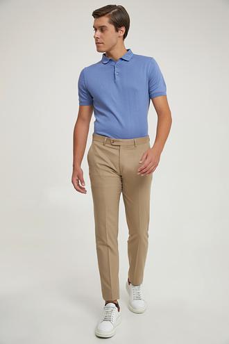 Ds Damat Slim Fit Camel Kumaş Pantolon - 8682060252869 | D'S Damat