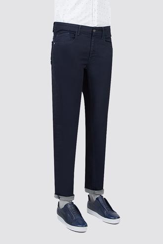Twn Super Slim Fit Lacivert Düz Denim Pantolon - 8682060350336 | D'S Damat