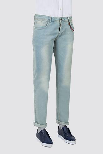 Twn Slim Fit Lacivert Taşlı Denim Pantolon - 8682060350510 | D'S Damat