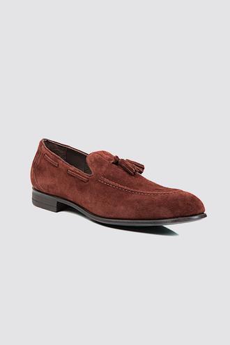 Twn Bordo Loafer Ayakkabı - 8682060224538 | D'S Damat