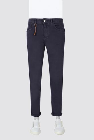 Twn Super Slim Fit Lacivert Düz Denim Pantolon - 8681778981535 | D'S Damat