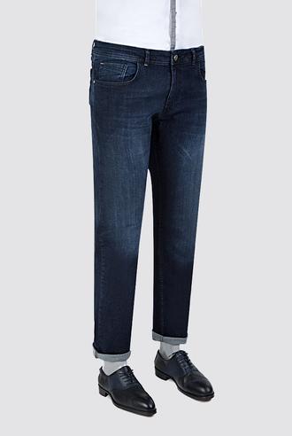 Ds Damat Slim Fit Lacivert Denim Pantolon - 8681779341505 | D'S Damat