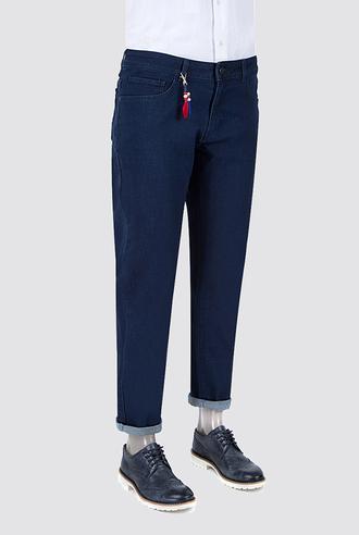 Ds Damat Slim Fit Lacivert Denim Pantolon - 8681779311782 | D'S Damat