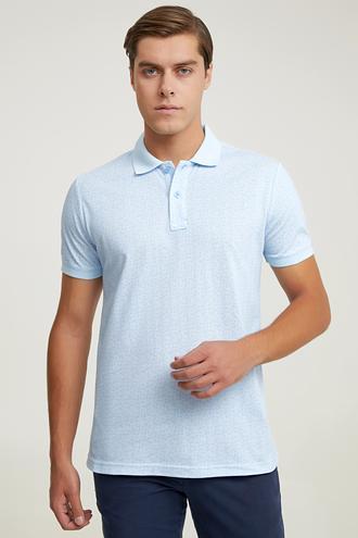 Ds Damat Regular Fit Mavi T-shirt - 6725695040226 | D'S Damat