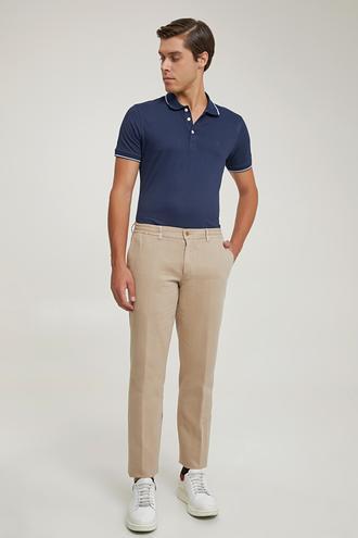 Damat Slim Fit Bej Jogger Pantolon - 8682364630226 | Damat Tween