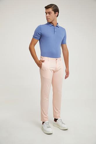 Twn Slim Fit Pembe Düz Chino Pantolon - 8682060348548   D'S Damat