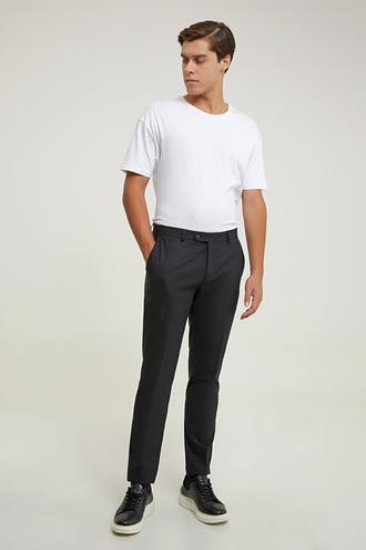 Tween Slim Fit Siyah Kumaş Pantolon - 8682364739981   Damat Tween