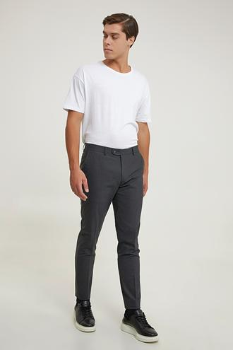 Tween Slim Fit Antrasit Kumaş Pantolon - 8682364740277 | Damat Tween