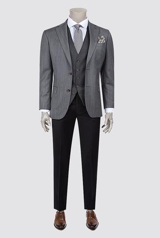 Damat Regular Fit Antrasit Kombinli Takım Elbise - 8681649041849 | Damat Tween